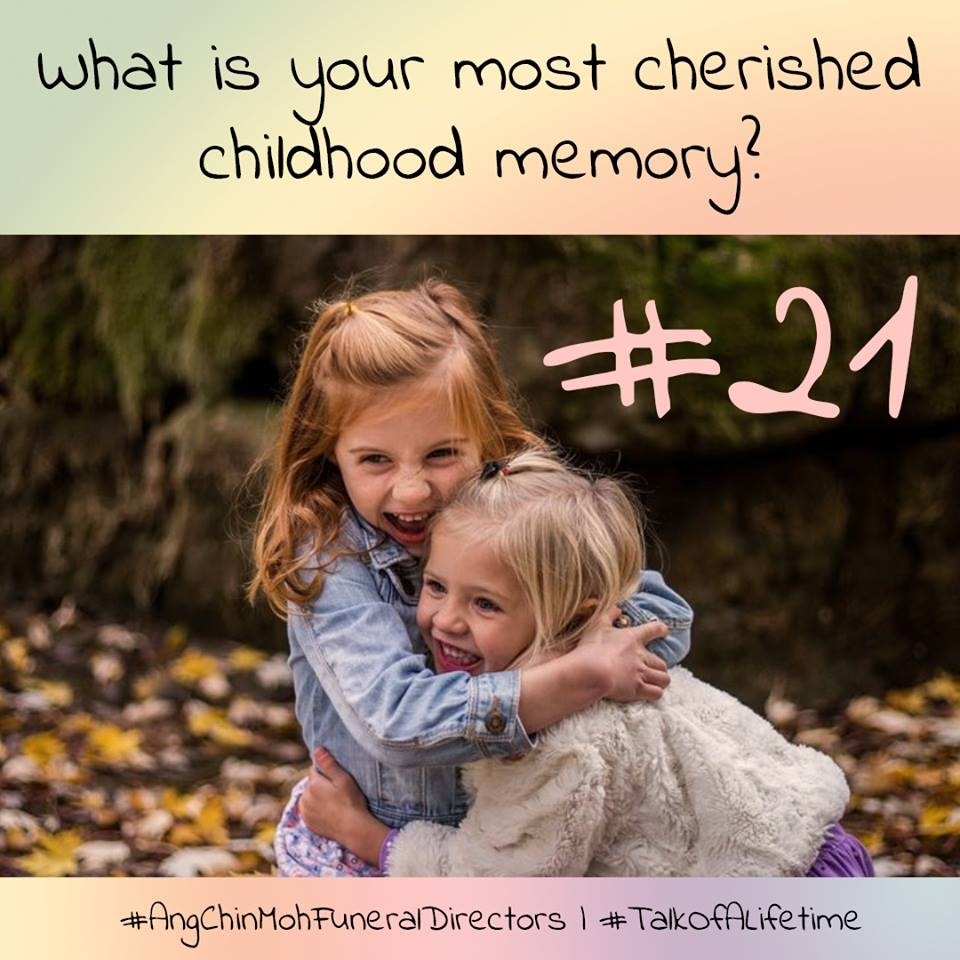 What is your most cherished childhood memory?