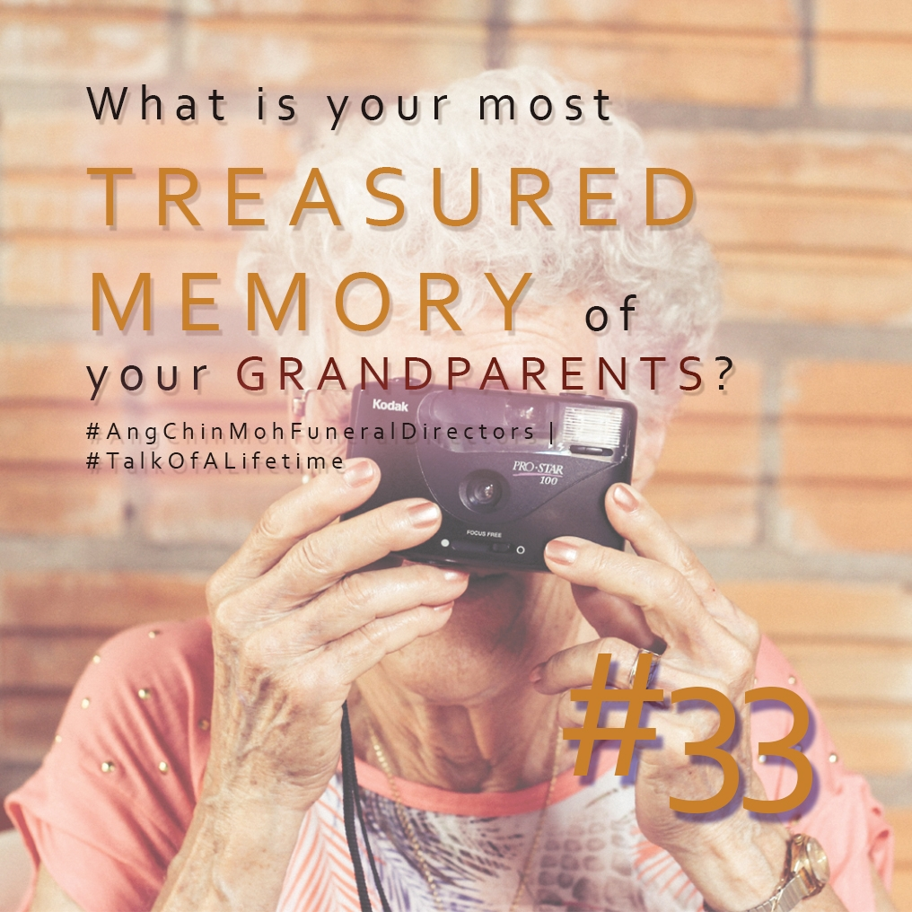 What is your most treasured memory of your grandparents?