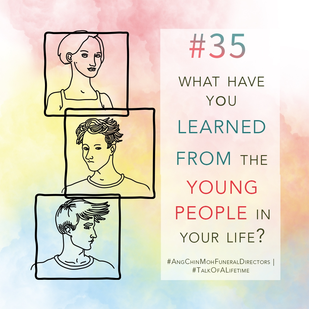 What have you learned from the young people in your life?
