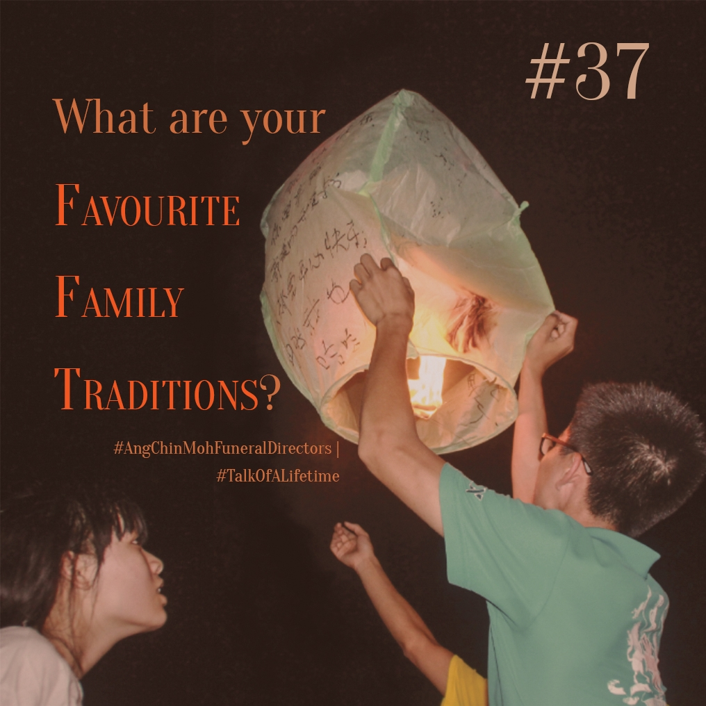 What are your favourite family traditions?