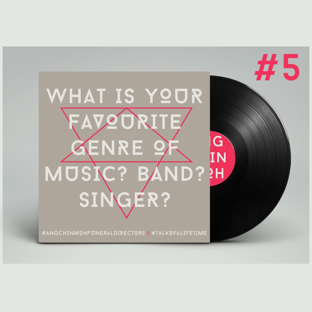 What is your favourite genre of music? Band? Singer?