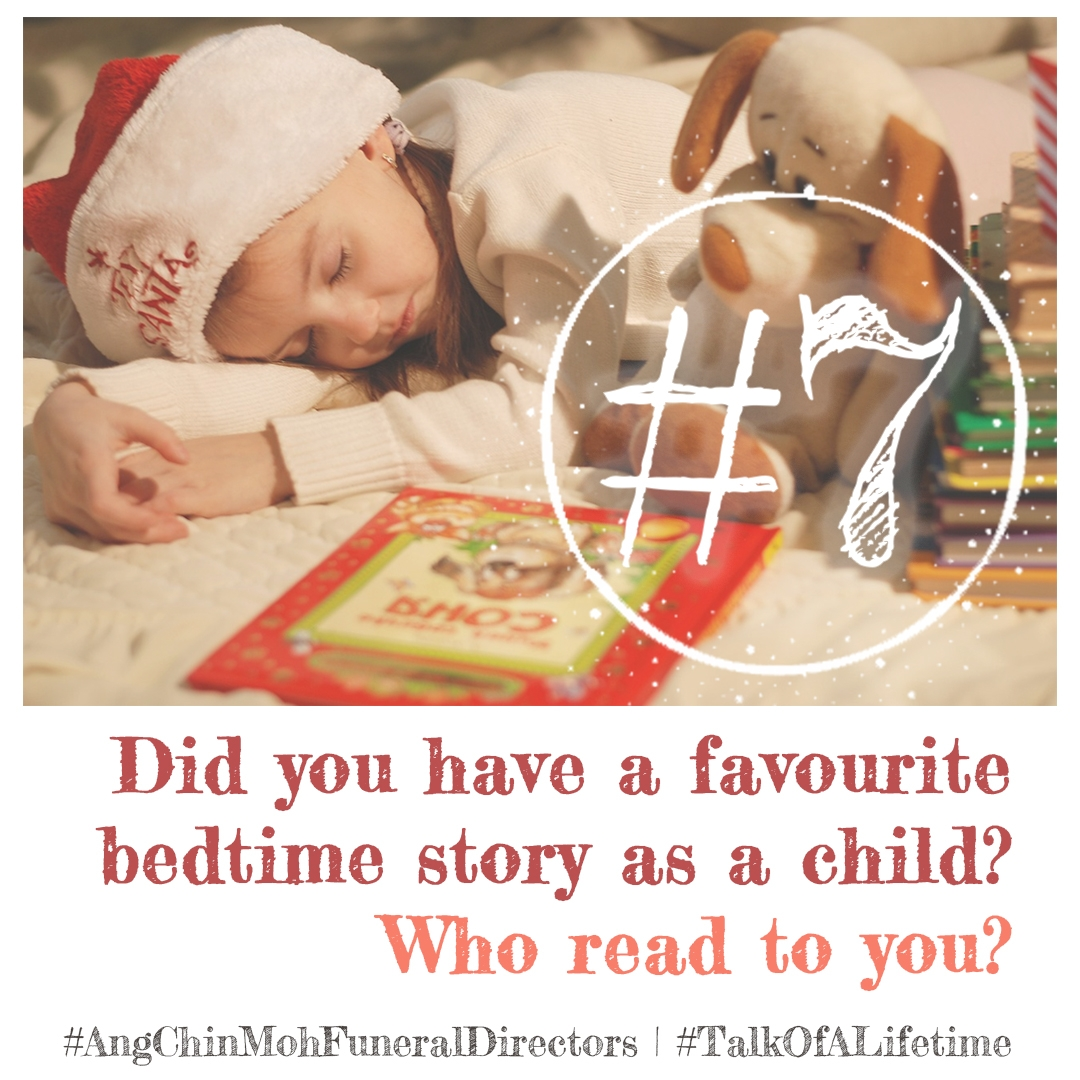 Did you have a favourite bedtime story as a child? Who read to you?