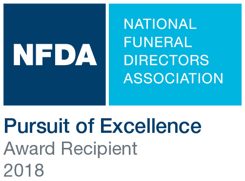 NFDA Pursuit of Excellence Award 2018