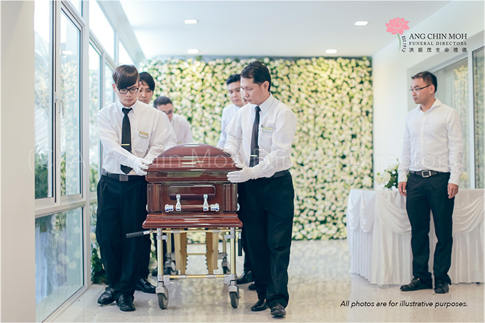 Ang Chin Moh Funeral Directors serving the needs of bereaved families